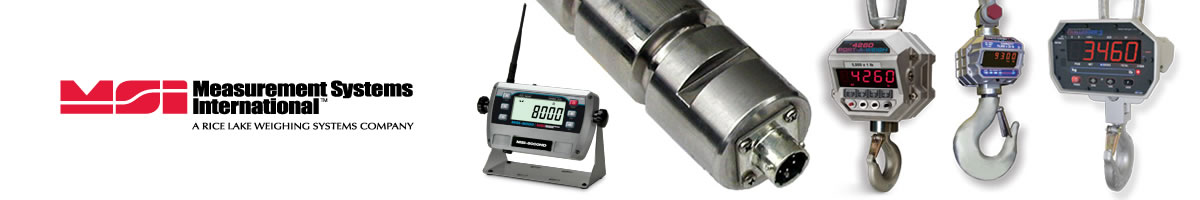 MSI Measurement Systems International Scales
